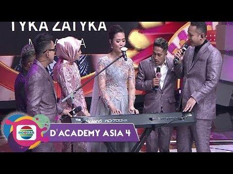 TAK DISANGKA! Tyka Zatika Mahir Bermain Keyboard Dan Semua Bernyanyi Bersama! - Da Asia 4