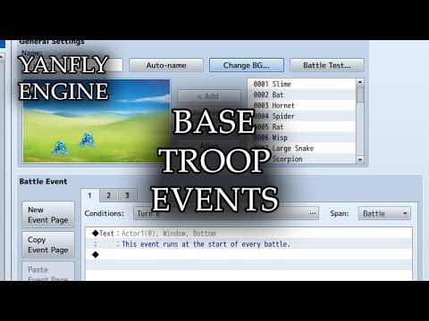 YEP 15 - Base Troop Events - RPG Maker MV