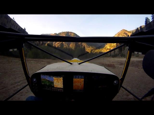 Kitfox Landing and Takeoff at Shepp Ranch, ID