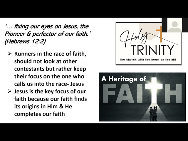 Lent Bible Study, 'A Heritage of Faith', session 6