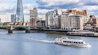 London Eye Thames River Sightseeing Cruise in London, England