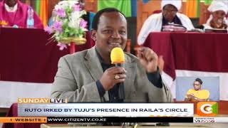 DP Ruto leads attacks on Jubilee SG Raphael Tuju