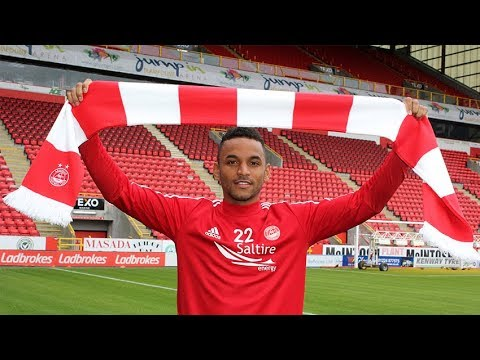 Welcome to Pittodrie - Funso Ojo!