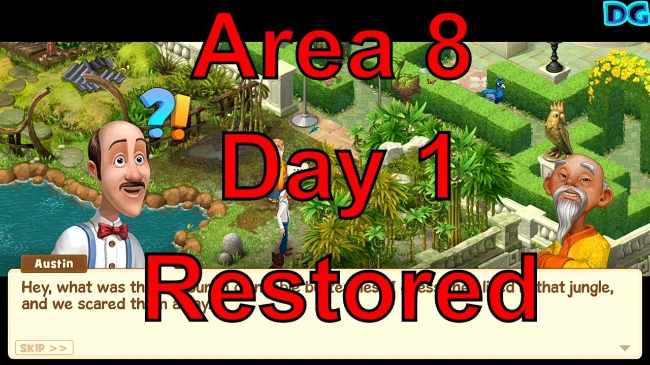 Superb Gardenscapes New Area 8 Day 1 Restored/Top Garden Designing Free Android U0026  Ios All Age Peopleu0027s Game