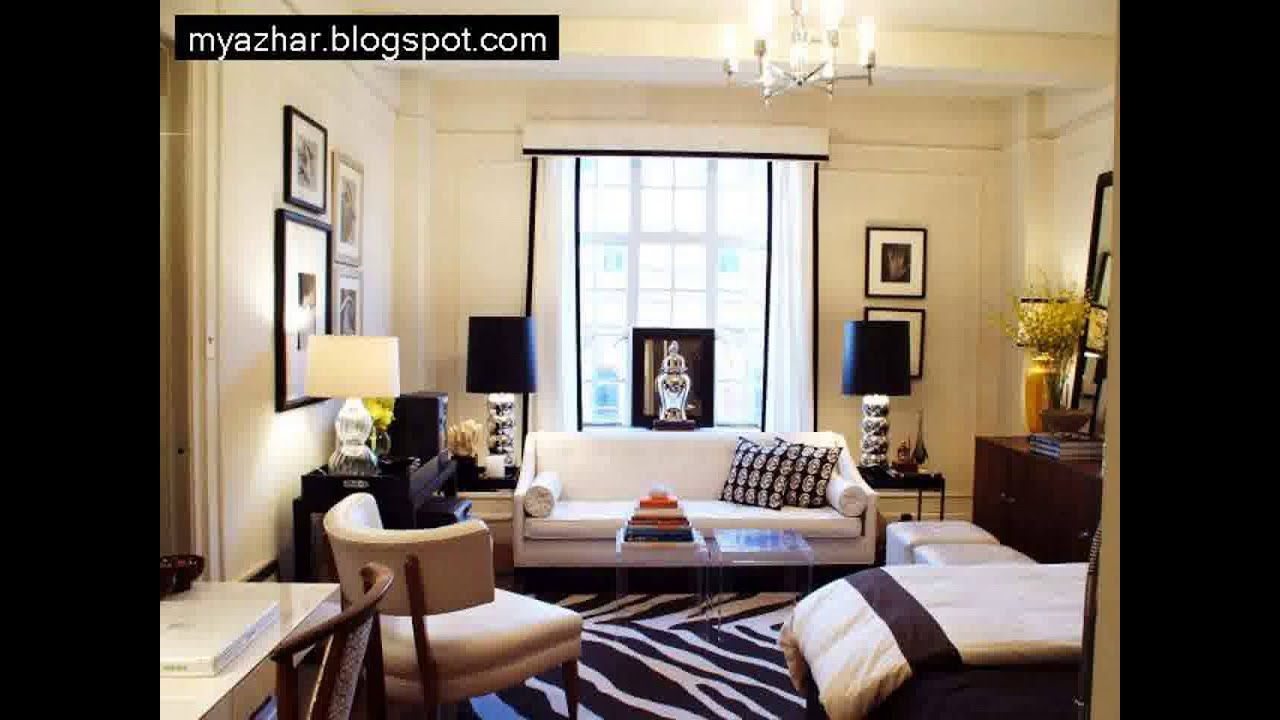 Apartment Interior Design: studio apartment design ideas 350 square feet1 -  YouTube