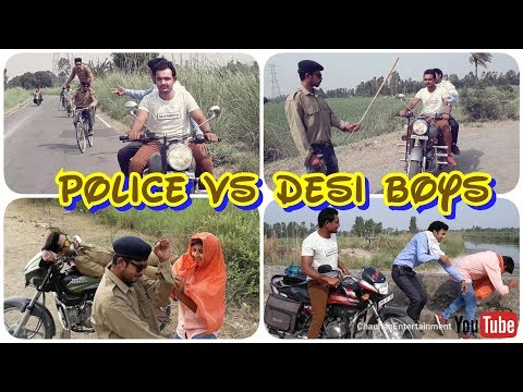 Police vs Desi Boys 2 | CE | Desi Dehati Vines | must watch