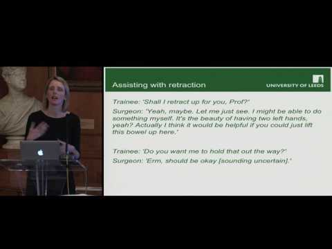Rebecca Randell: Changing Roles in Robot-Assisted Surgery