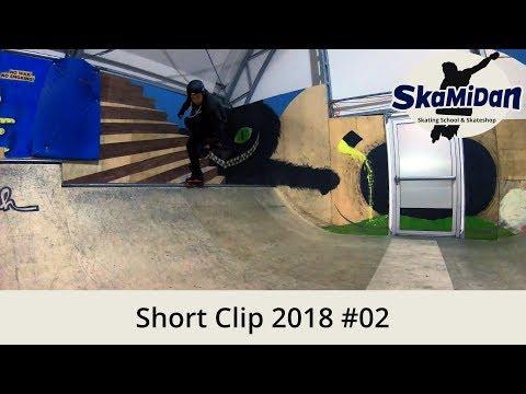 Short Clip 2018#02 – First Mini Ramp Line 2018 – Aggressive Inline Skating Progress