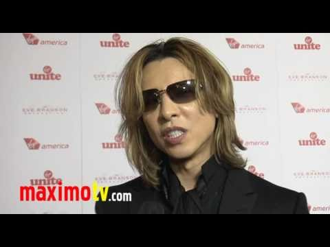 X Japan YOSHIKI Interview at 4th Annual ROCK THE CASBAH Gala