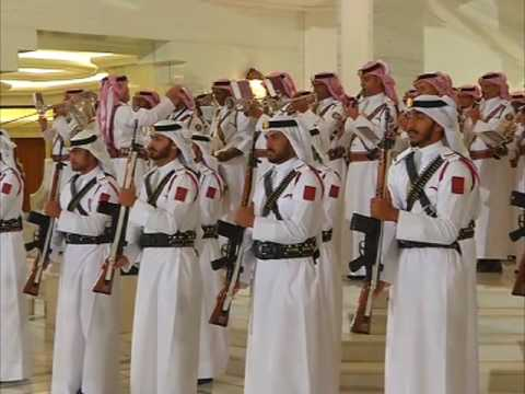 Indian PM Modi accorded ceremonial guard of honour by Qatar