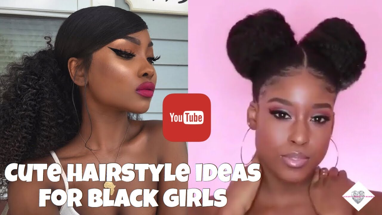Easy Back To School Hairstyle Tutorial For Black Girls 2018 Youtube