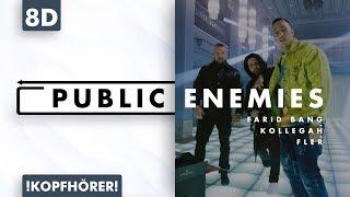 8D AUDIO | Farid Bang x Kollegah x Fler - Public Enemies