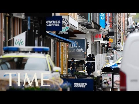 A Truck Crashed Into A Stockholm Department Store, Killing At Least 2 People | TIME