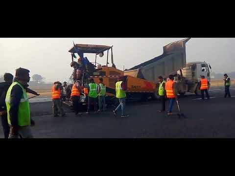 Enjoy the Environment Of Newly Constructing Of Gautam Buddha International Airport