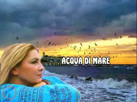 Romina Power - Acqua di mare (karaoke - fair use)