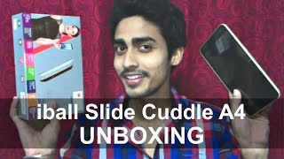 iBall Slide Cuddle A4 3G Tablet - Unboxing, Full Review, Features, Specifications & Price!!