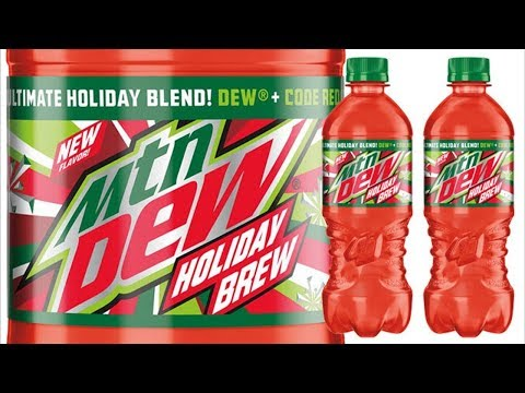 Mountain Dew Holiday Brew Review - Soduh