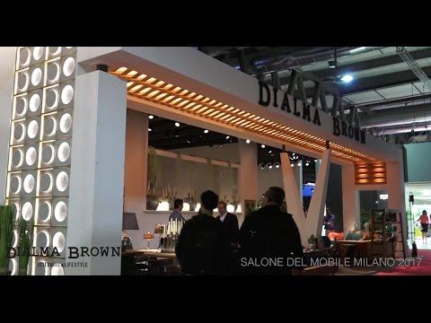 Video stand dialma brown salone del mobile milano 2017 for Salone del mobile hotel