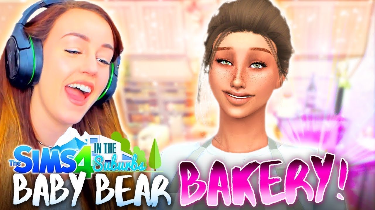THE BABY BEAR BAKERY! 🐻 (The Sims 4 IN THE SUBURBS #53! 🏘)