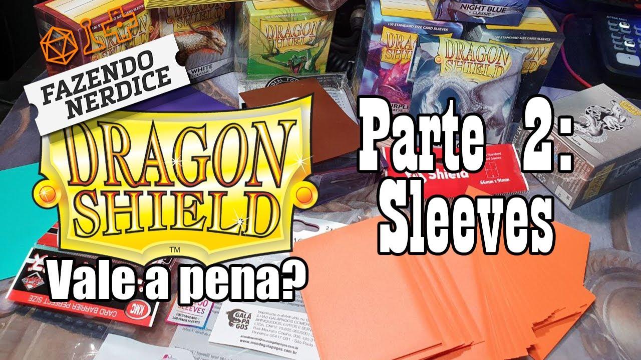 Comparando Sleeves: Dragon Shield, Katana, Eclipse e Central - Parte 2