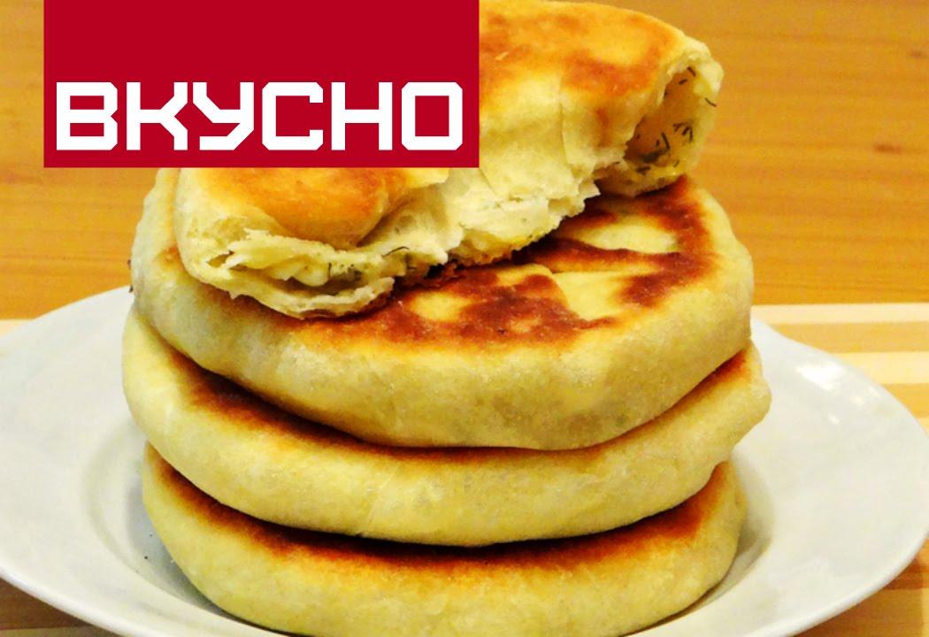 Лепешки с сыром и творогом на кефире на сковороде рецепт — pic 10