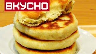 ЛЕПЁШКИ С ТВОРОГОМ И СЫРОМ  НА СКОВОРОДКЕ /Cakes with cottage cheese and cheese on griddle