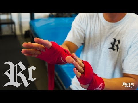 How To Wrap Your Hands - Boxing 101