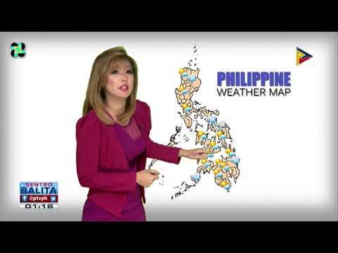 PTV INFO WEATHER: ITCZ, patuloy na nakaaapekto sa Mindanao
