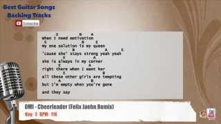 OMI - Cheerleader (Felix Jaehn Remix) Vocal Backing Track with chords and lyrics