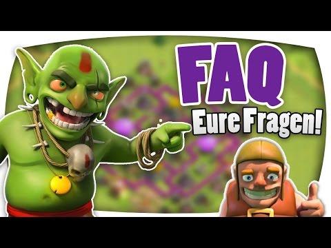 Clash of Clans | Facebook FAQ! [HD-1080p] [German|Deutsch]