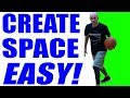 BEST Way To Create Space In Basketball! Basketball Moves