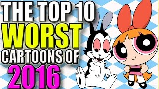 The Top 10 Worst Cartoons Of 2016 | @KmackTime