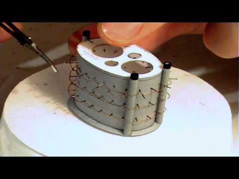 Papercraft Videorelacja z budowy krążownika ZARA 1:200 ep04. Paper model of the cruiser ZARA tutorial – kopia