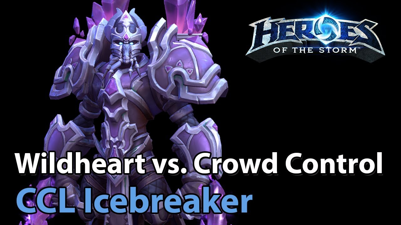 ► Crowd Control vs. WH - Icebreaker Cup - Heroes of the Storm Esports