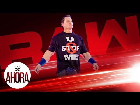 John Cena vuelve a Raw: WWE Ahora, Ene 04, 2019