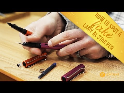How to Spot a Fake Lamy AL Star Pen