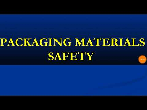 Food packaging material safety issues