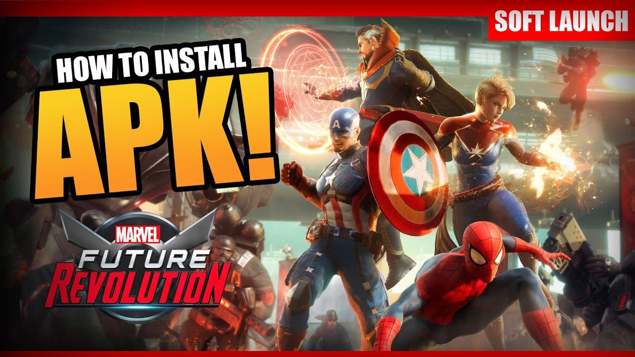 How to install Marvel Future Marvel Future Fight MOD APK
