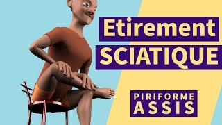 Syndrome piriforme / pyramidal - Exercice  sciatique