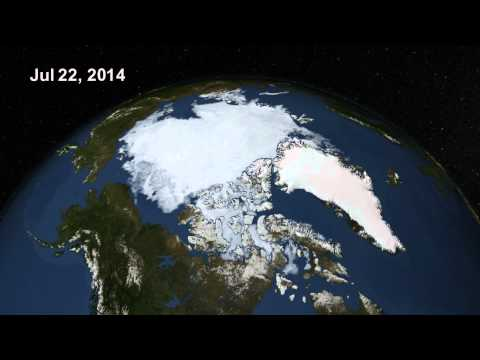 Arctic Sea Ice, Summer 2014
