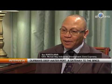 Durban's deep water port: A Gateway to the BRICS