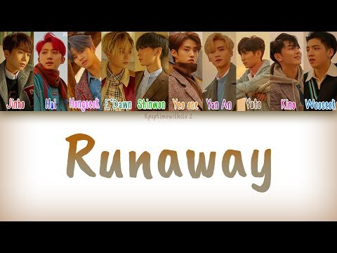 PENTAGON (펜타곤) - Runaway | Han, Rom, Eng [Color Coded Lyrics]