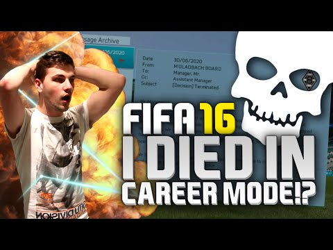 FIFA 16 | I DIED IN CAREER MODE!?