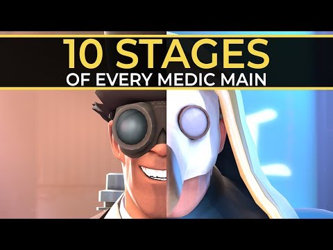 The 10 Stages of Every Medic Main