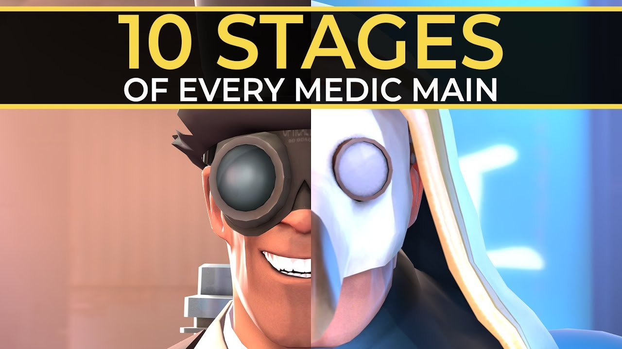 Download The 10 Stages of Every Medic Main