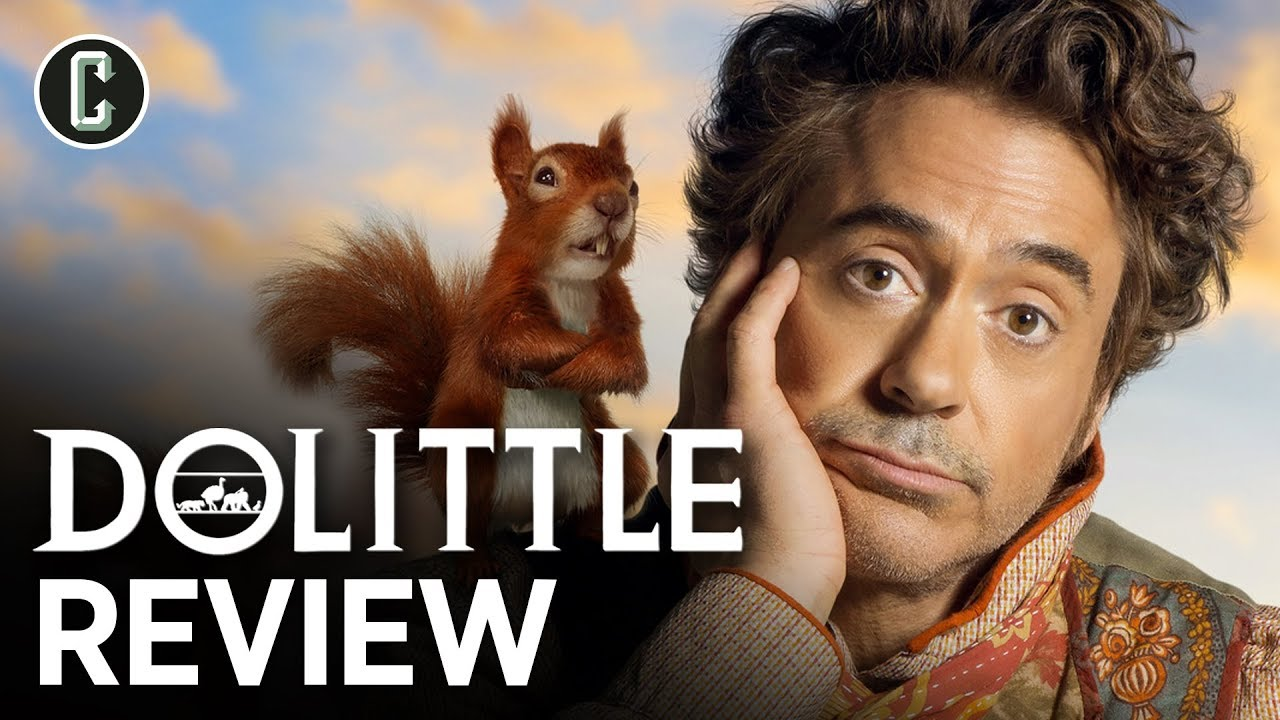 'Dolittle' review: Robert Downey Jr. talks to the animals, without ever ...