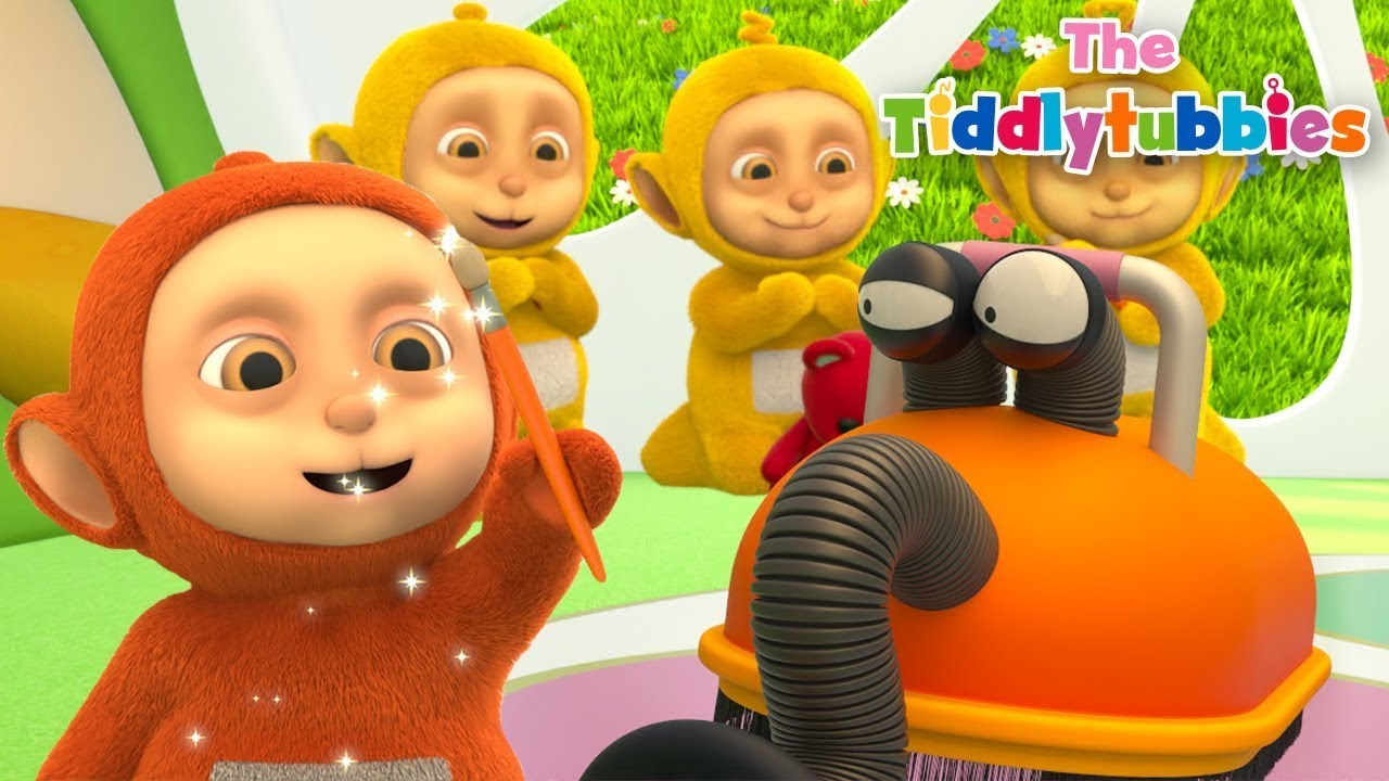 Tiddlytubbies BARU Season 4 ★ Episode 13: Kuas Ajaib! ★ Tiddlytubbies 3D Full Episodes