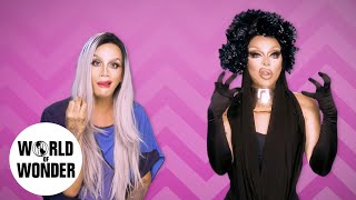 "FASHION PHOTO RUVIEW: Raja & Raven on RuPaul's Drag Race Season 9 Episode 12 ""Category Is"""