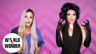 FASHION PHOTO RUVIEW: Raja & Raven on RuPaul's Drag Race Season 9 Episode 12