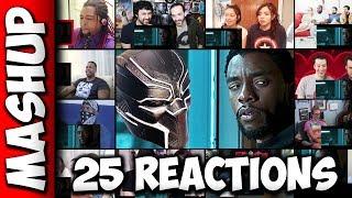 BLACK PANTHER Trailer Reactions Mashup